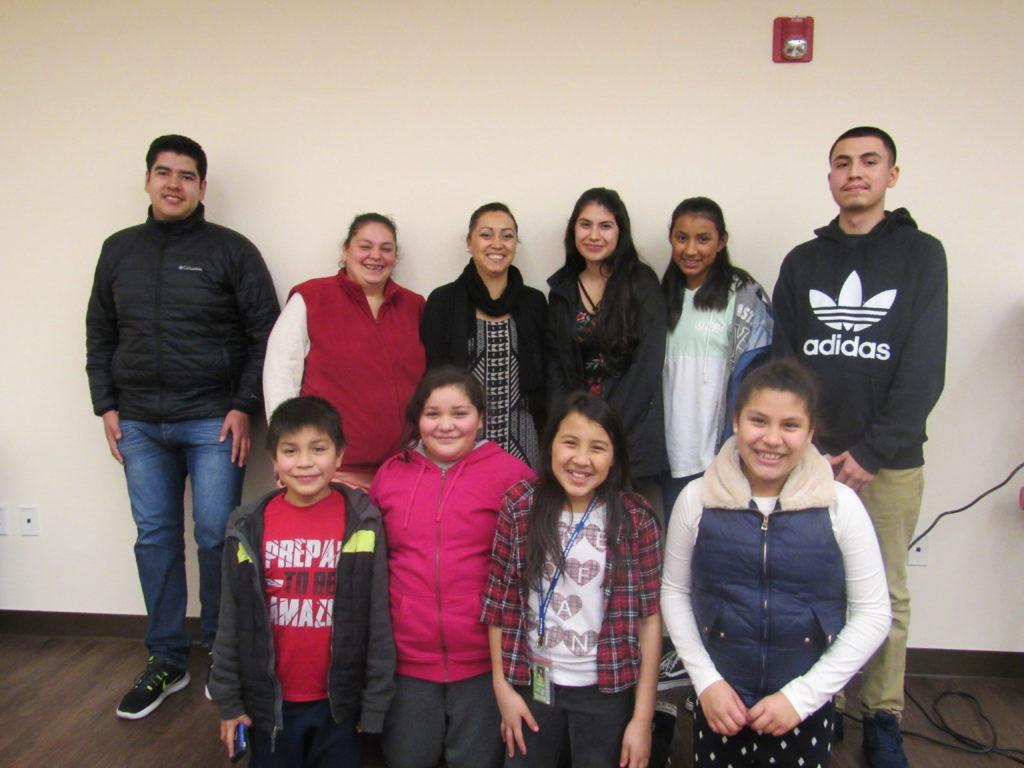 FHDC Rosca de Reyes Volunteers