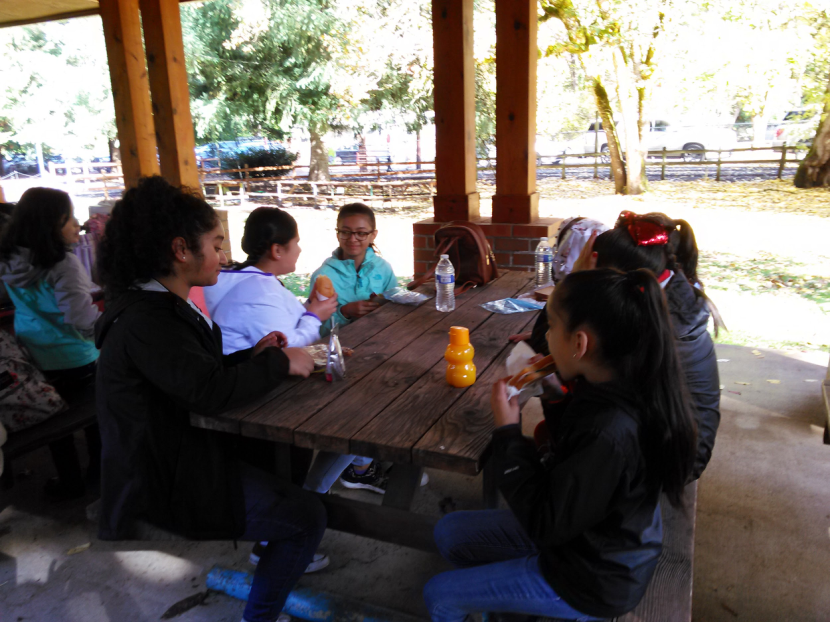 fhdc youth enjoy lunch and trains in oregon
